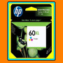 Cartucho Hp 60xl Original Nuevo (cc644wl) Color Caja Cerrada