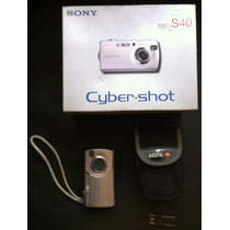 Camara De Fotos Digital - Sony Cybershot Dscs40