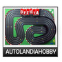 Pista De Scalextric 4 Vias 13mt, Largo 2,50 Super Promo!