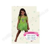 Disfraz De Tinker Bell Campanita - El Original Importado !!!