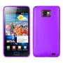 Funda Silicona Samsung I9100 Galaxy S2 Cover De Goma Violeta