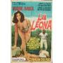 Afiche La Leona Isabel Sarli, Armando Bo 1964