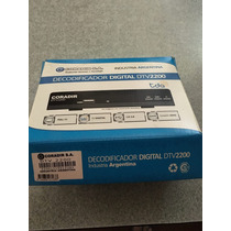 Decodificador Digital Tda Coradir Dtv2200 Graba