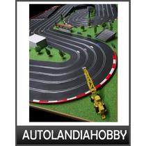Pista De Automodelismo Slot Scalextric 4 Vias 15mt Recorrido