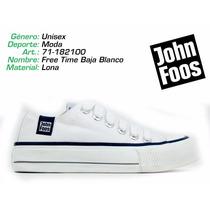 John Foos Free Time Rojas / Blanco / Negro / Deporfan