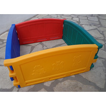 Pelotero 4 Paneles Plasticos Corralito Sin Pelotitas Niños