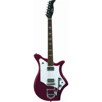 Guitarra Electrica Eko 700 Red Sparkle C/trémolo Ajustable