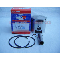 Piston Kit Zanella V3 90 Ciclomotor Competicion Nuevo Stock