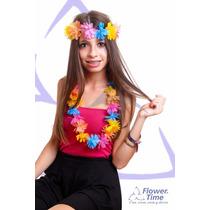 Collares Hawaianos De Colores Varios