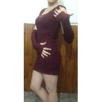 Vestido Lanilla Importado Formal/informal