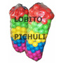 Pelotas Para Pelotero Plastico Virgen X50 Brillosas Colores