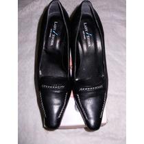 Zapatos Lady Stork Mujer Con Tacos Como Nuevos
