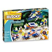 Blocky Galactico X6 335 Piezas 5 A 10 Años Con Muñecos