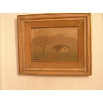 Pintura Original Al Oleo Pintor Fray Guillermo Butler 1951