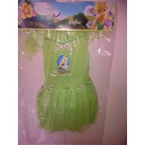 Disfraz De Tinker Bell Campanita Importado!! Original Disney
