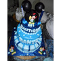 Torta Infantiles Mickey Ideal 1 Año! 50 Personas..