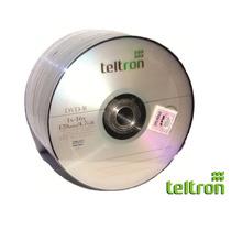 Dvd R Teltron 4,7gb 120min 1-16x Por 50 Unidades.