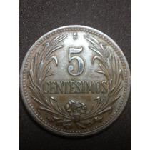 Moneda Uruguay 5 Céntimos 1949 P7-12