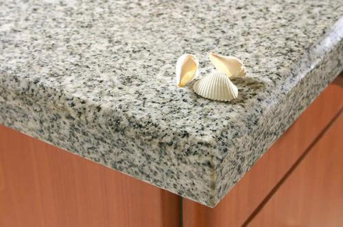 Mesada granito gris mara x metro lineal marmoleria for Precio granito gris