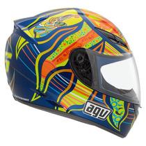 Casco Agv K3 5 Continents Moto Gp Valentino Rossi