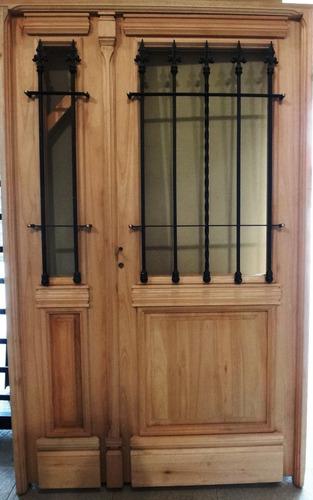 El aviso ha expirado 275853689 precio d argentina for Puertas madera exterior precios