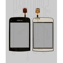 Touch Screen Nokia Asha C2-02 Repuesto Pantalla Tactil Orig