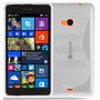 Funda Tpu Gel Silicona Antishock + Film Vidrio Lumia 535