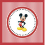 Kit Imprimible Mickey Disney Candy Bar Invitaciones Deco
