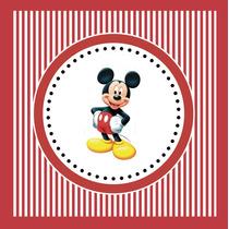 Kit Imprimible Mickey Disney Candy Bar Invitaciones Deco