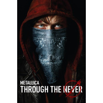 Blu Ray Metallica Through The Never 2 Disc Nuevo Original