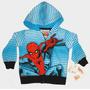 Buzo Canguro Spiderman Original Niño Talle 3 Import Nuevo!