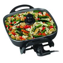 Multicocina Electrica Winco W-54 Pizzera-grill-paellera-1500
