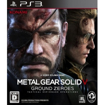 Metal Gear Solid V Ground Zeroes Ps3 | Tarjeta Digital