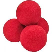 Set De 4 Bolas De Esponja (rojas)