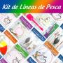 Kit De Líneas De Pesca Combo De Pesca Para Río Y Mar