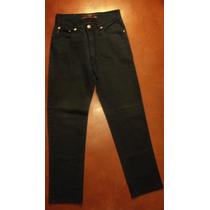 Pantalon Gabardina Legacy Talle 38 Color Azul Liso