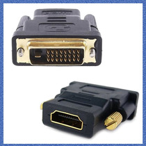 Adaptador Dvi Digital A Hdmi Gold Premium. Lcd, Led, Cañon