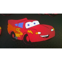 Figura De Cars En Goma Eva