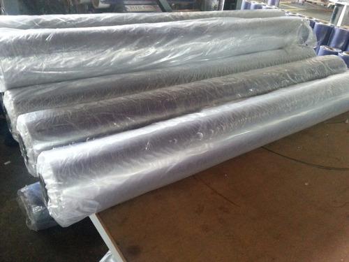 Rollo tela de pvc 0 8 flexible cristal transparente 150 - Precio rollo tela asfaltica ...