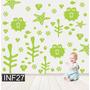 Vinilos Decorativos Infantiles Mundo Marino Nene Bebe Deco