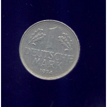 Alemania Moneda De 1 Deutsche Mark, Año 1974