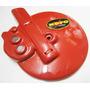 Cubre Disco Gilera Smash- Biz- Varios 110 Cc Rojo