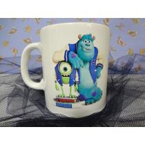 Tazas Monster Inc, Souvenir, Cumpleaños, Infantiles, Regalo