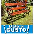 Kit Arma Tu Banco De Plaza, Incluye 2 Patas Y 4 Tablas