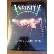 Beto Vazquez Infinity - Live In Buenos Aires (dvd)