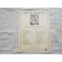 Mozart / Minuet/ Transcripción Andrés Segovia/ Guitarra