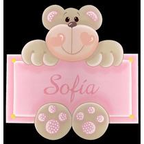 Cartel De Bienvenida ¿ Nombres /bebé/nacimiento ¿ Simples