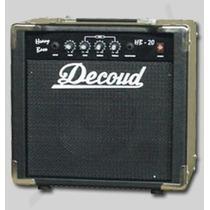 Amplificador De Bajo Decoud Hb 20 Ideal Principiantes!