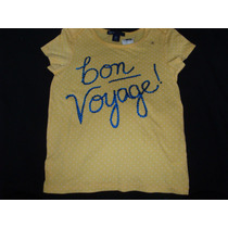 Regalo Remera Nena Gap Kids Voyage Original Etiqueta Nueva