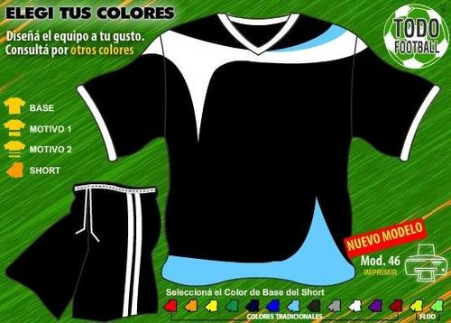 Pack De Camisetas De Futbol Para Tu Equipo + Short + Medias! -   499 ... 67f7f9ca89a82